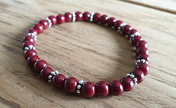 Glaskraal Dark Wine Red 6mm met DQ