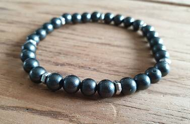 Glaskraal Pearl Coating Dark Grey met DQ 6mm