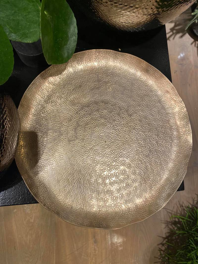 Plate gold