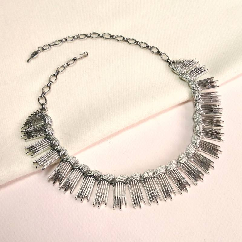 Sarah Coventry modernistische ketting 70s