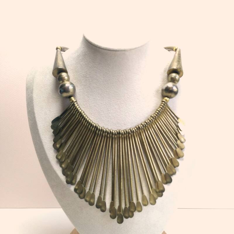 Egyptian revival boho ketting 70s