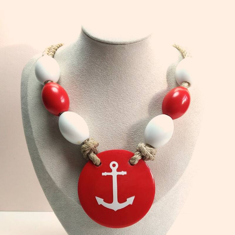 Chunky sailor ketting 80s
