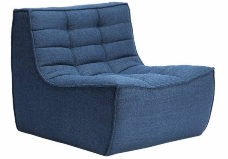Fauteuil Oliver Blauw