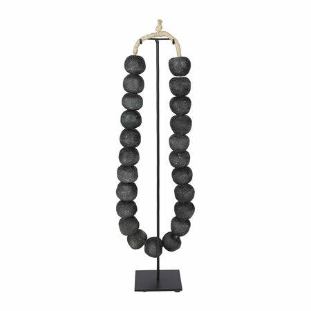 Beads On Stand | Black