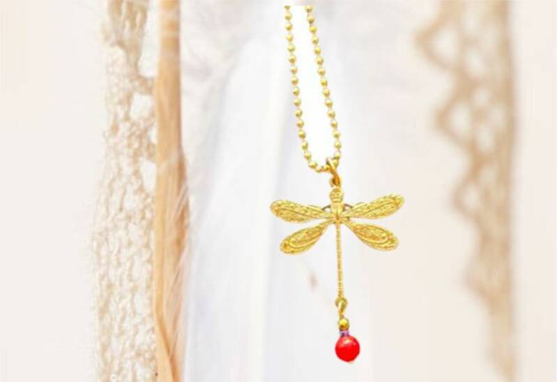 Ketting Dragonfly | Red