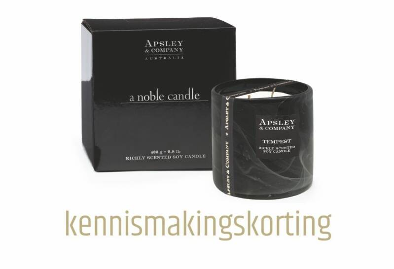 Tempest 400g Luxury Candle