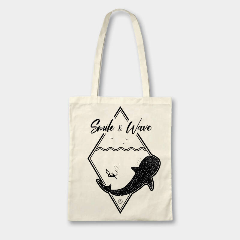 Tote bag Bubbles
