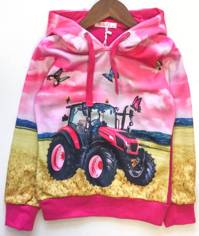 Hoodie Squared & Cubed Tractor                      Kidsspecial-Merchandise