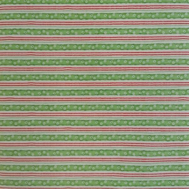 Warm Wishes - Green and Red Striped - 24442