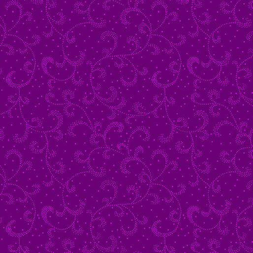 Color Theory - Swirling Scroll - Violet
