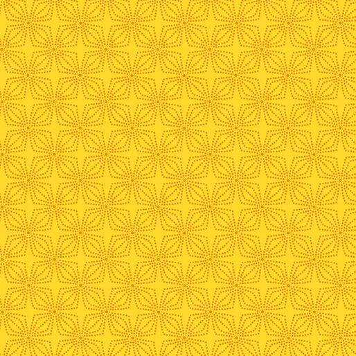 Color Theory - Geo Bloom - Marigold