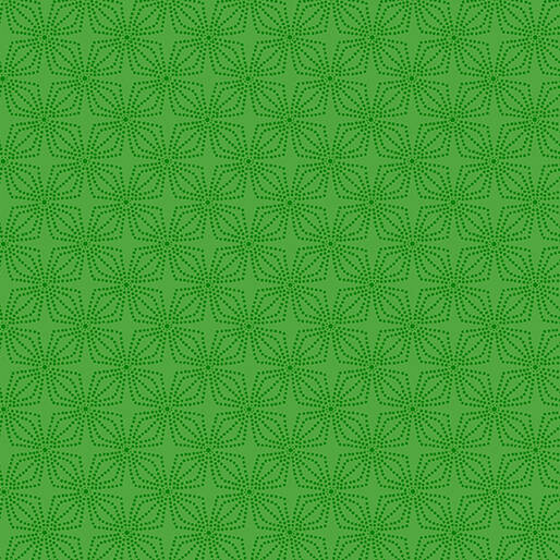 Color Theory - Geo Bloom - Green