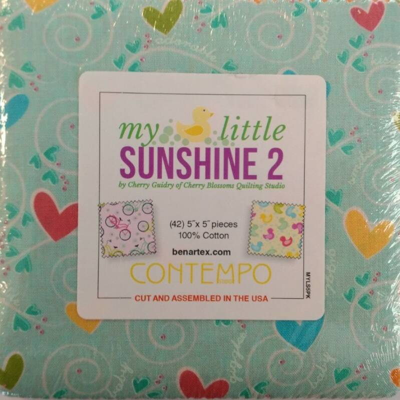My Little Sunshine 2 - 5x5 inch - MYLS5PK