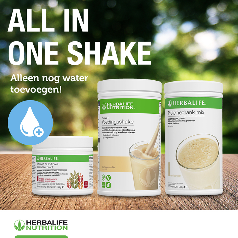 840Z All-in-one-Shake 1 set NIEUW