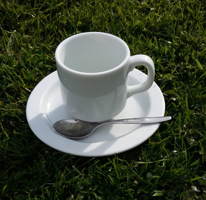 Koffie/thee set 11 cl