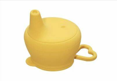 Sippy cup - ocher yellow