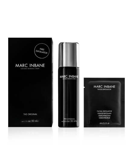 Marc Inbane Tanning Spray Mini 50 ml + Black Exfoliator 5 ml
