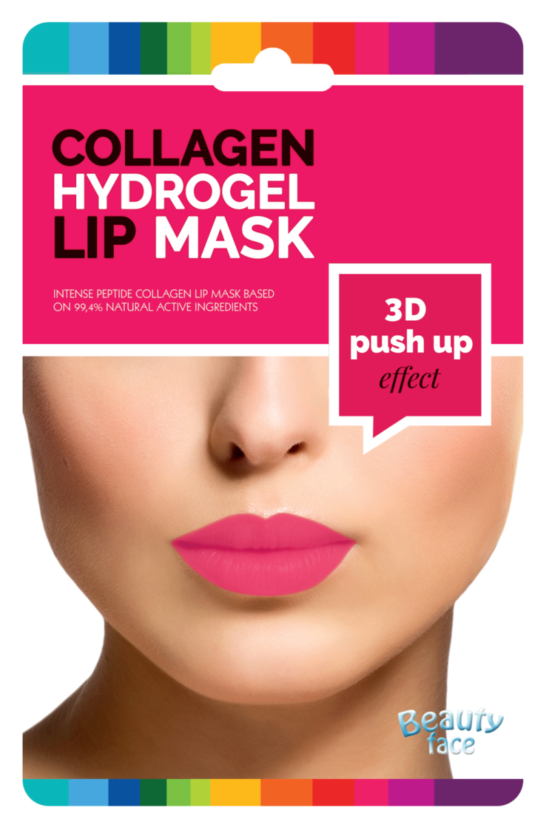 Collageen Mond/Lip masker 3D Push Up