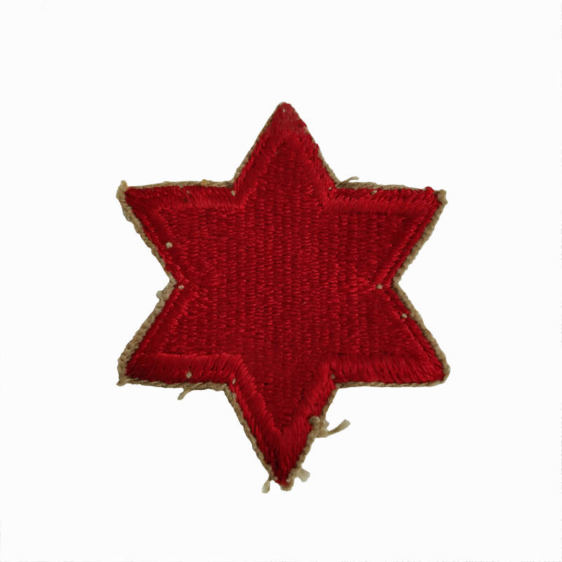 WWII 6e infanterie divisie patch