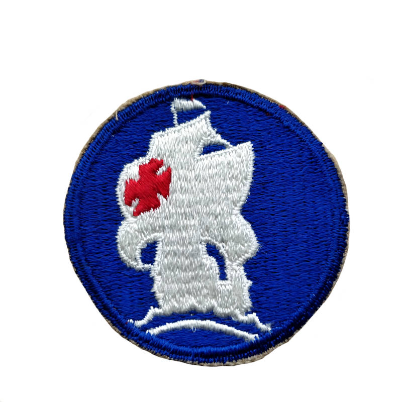 WWII US patch Caribbean defence command