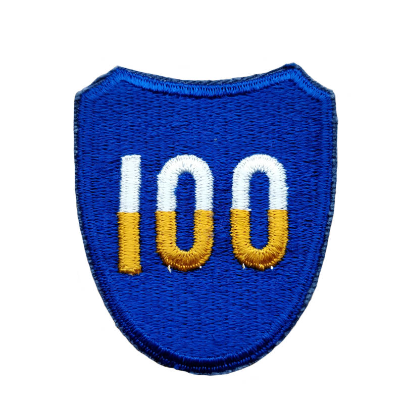 WWII US patch 100e inf. div.