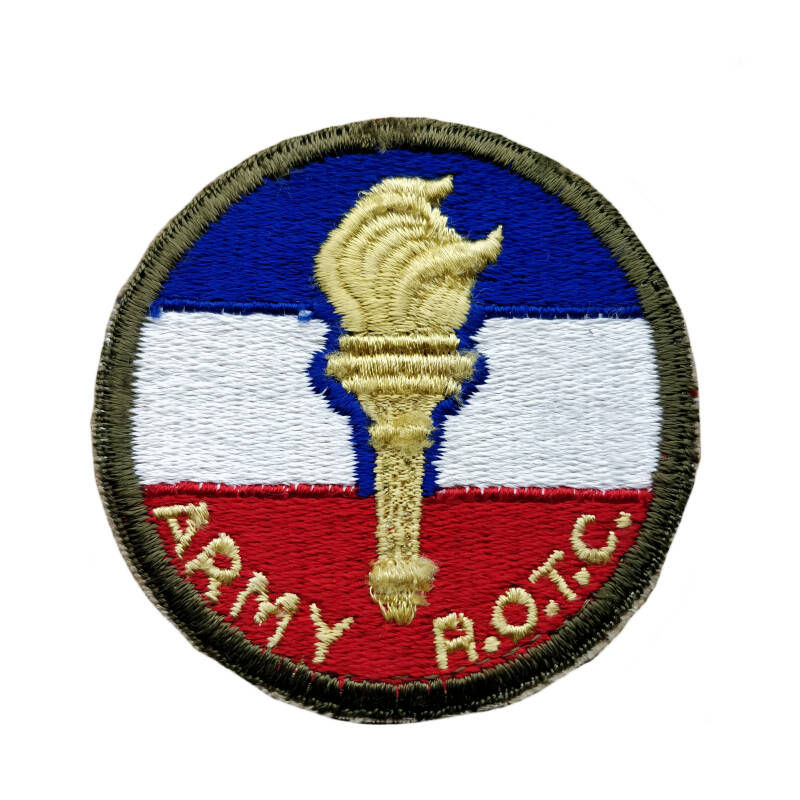 WWII US patch recruit officers training command (ROTC)
