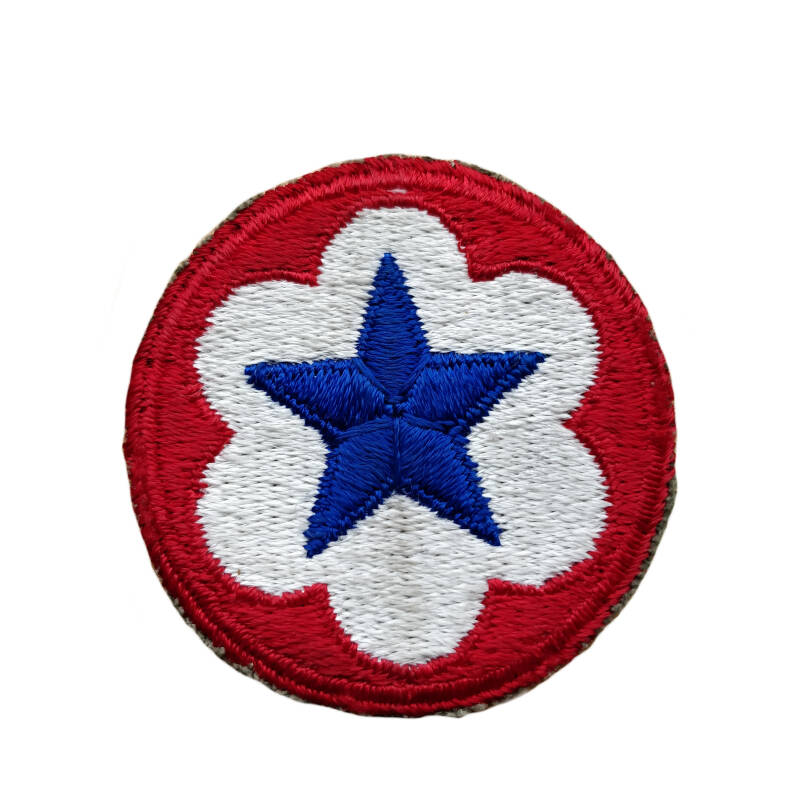 WWII US service forces patch