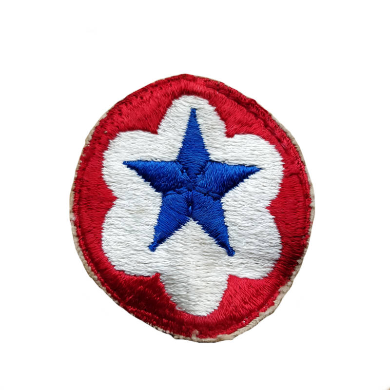 WWII US patch Army service forces