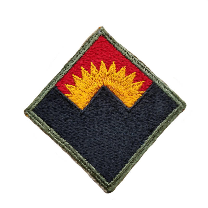 WWII US patch anti aircraft artillery command