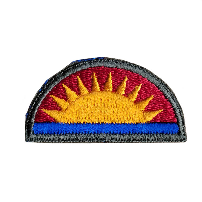 WWII US patch 41e infanterie divisie