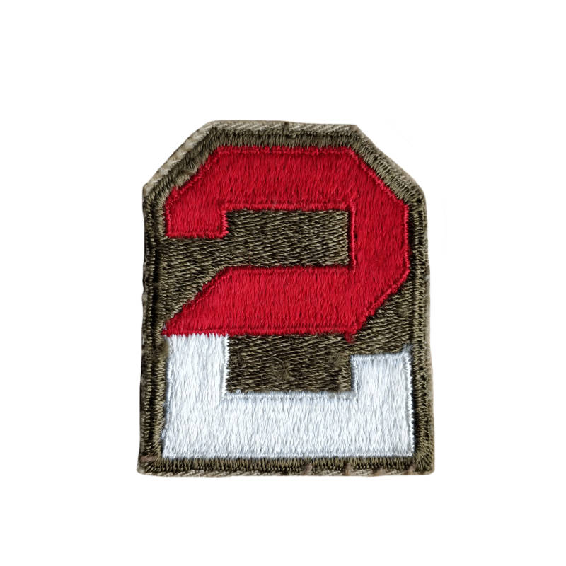 WWII US patch 2e leger