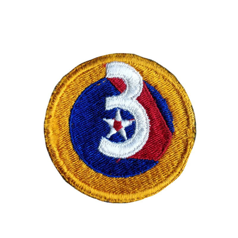 WWII US patch 3rd army airforces