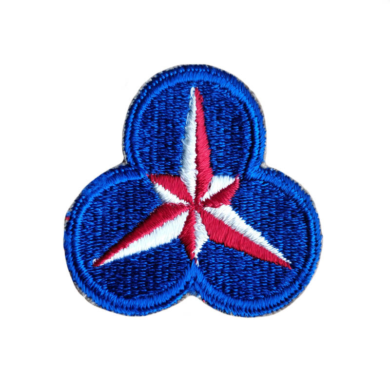 WWII US patch 36th Army corps