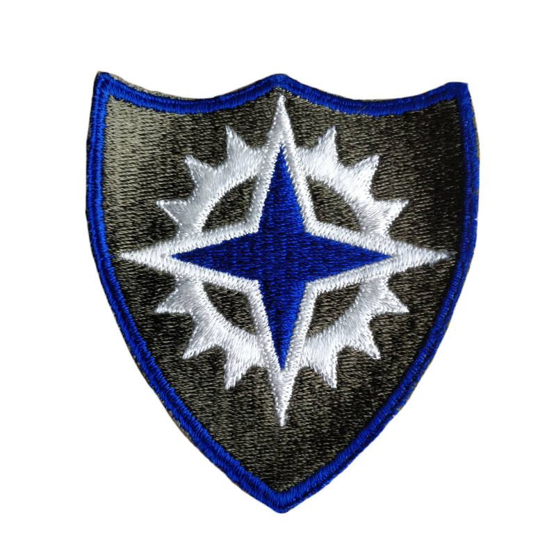WWII US patch 16th Army Corps