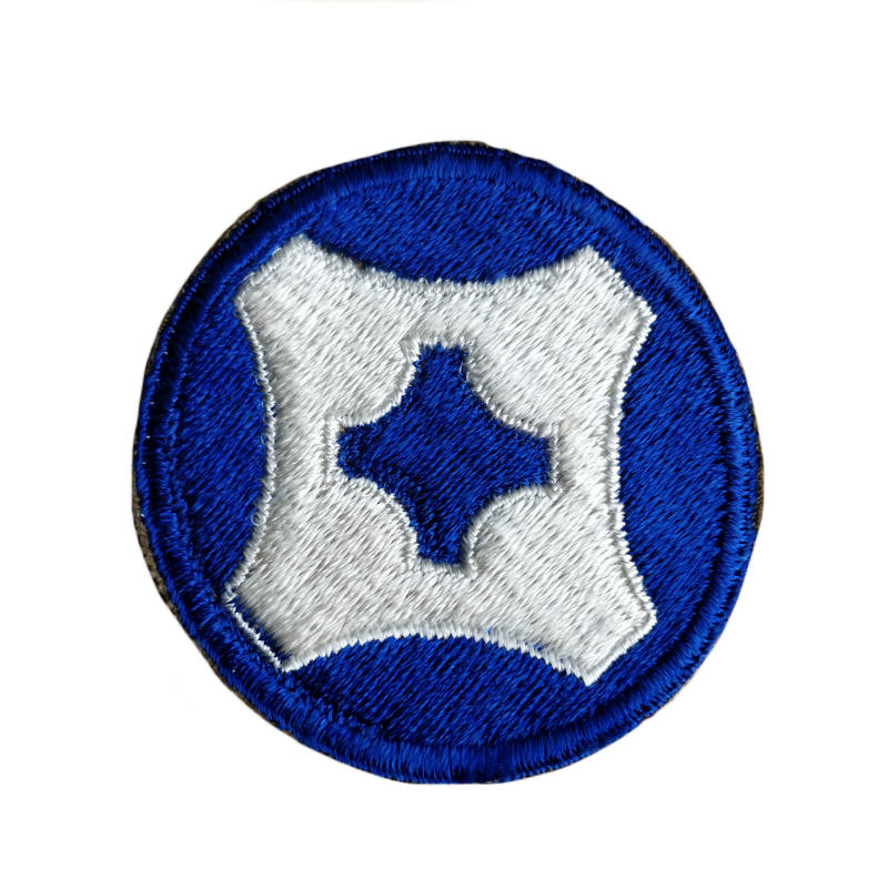 WWII US patch 4th Service Command