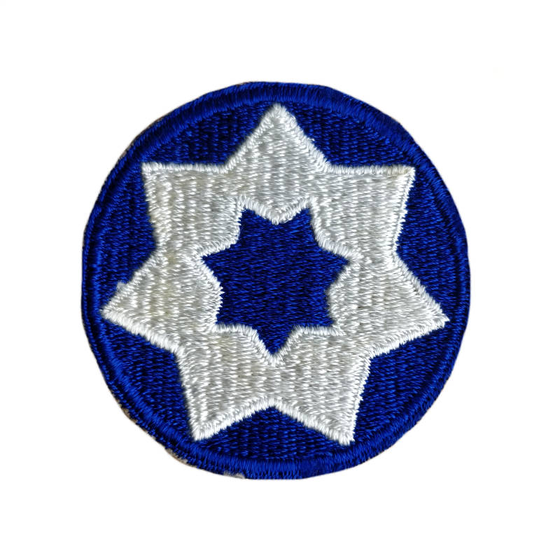 WWII US patch 7th Service Command