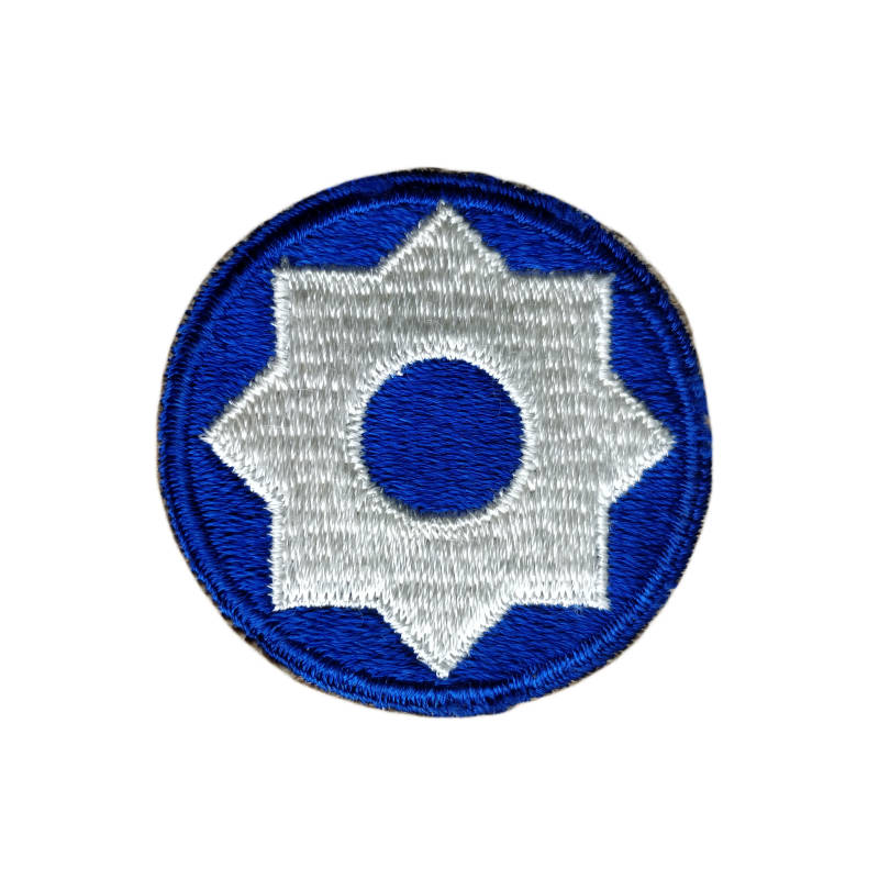 WWII US patch 8th Service Command