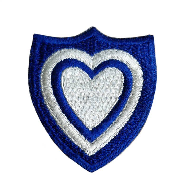 WWII US patch 24th Army corps