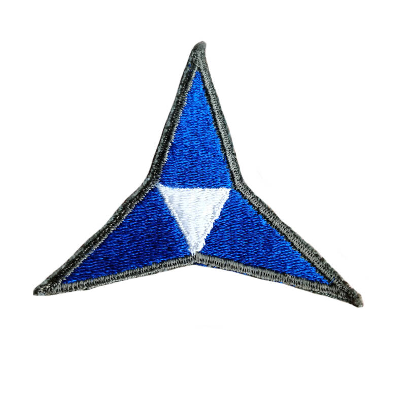 WWII US patch 3rd Army Corps