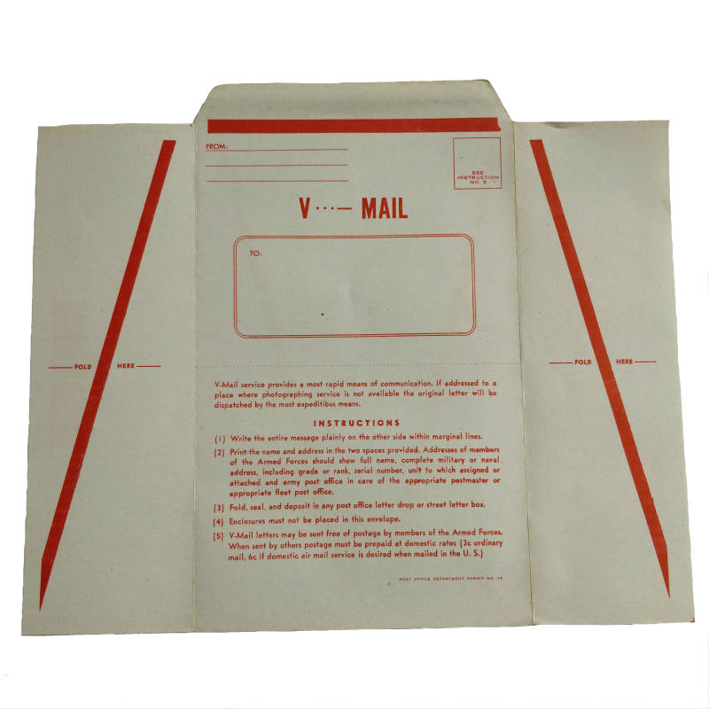 WWII US V-Mail brief