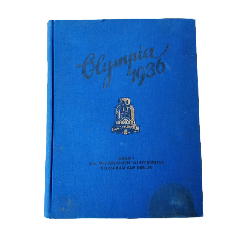 WWII Duits plakboek ''Olympia 1936 band I''