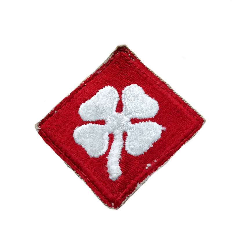 WWII US patch 4th Army