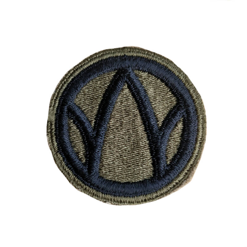 WWII US patch 89e Infanterie Divisie