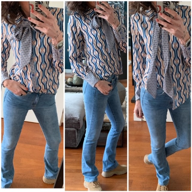 Flared Jeans VS Miss