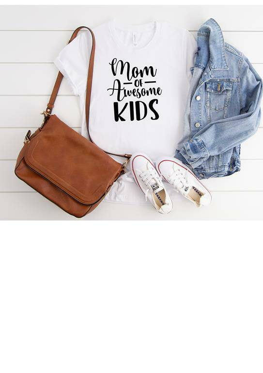 T Shirt Mom of awsome kids