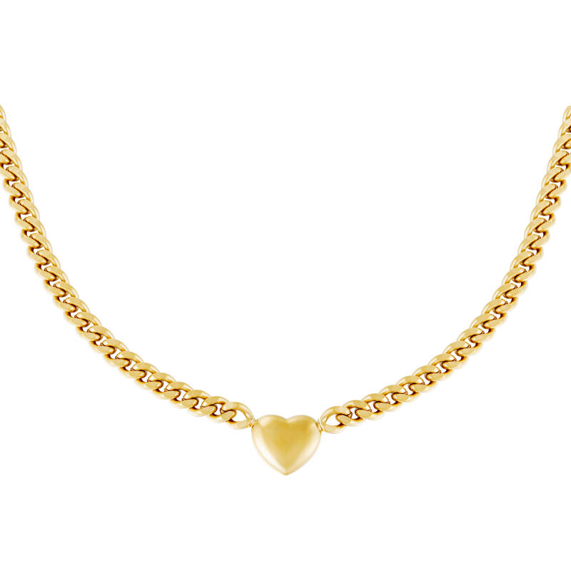 Ketting Chained Heart - Goud