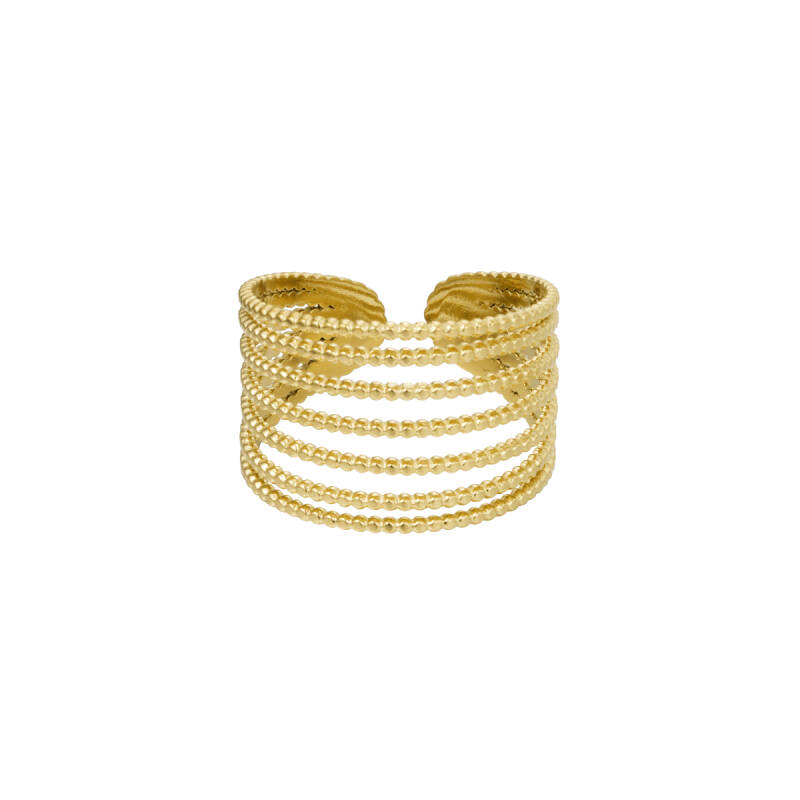 Ring Stack it up - Goud