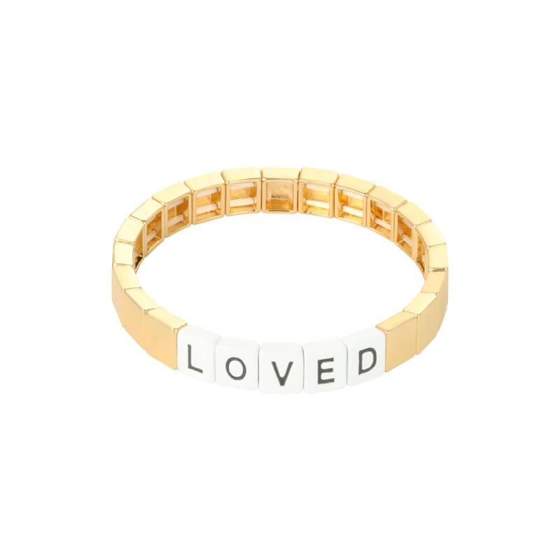 Armband loved gold