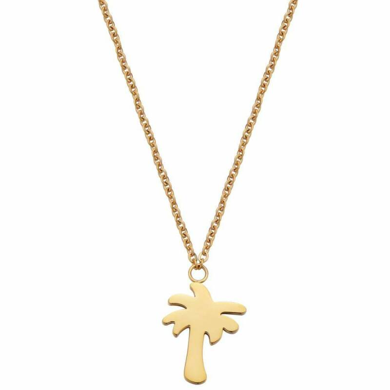 PALMTREE NECKLACE GOLD