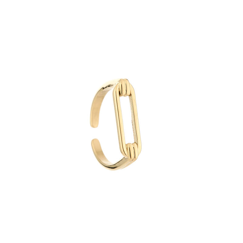Ring Ovale Opening - Goud